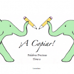 A Copiar! Palabras Preciosas, Tomo 2
