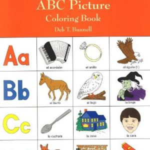My First Spanish ABC Picture Coloring Book (Dover Children's Bilingual Coloring Book)