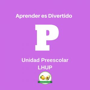 LHUP preescolar unidad, plan de estudio lemonhass.com