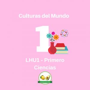 LHU1 unidad de ciencias de primero, plan de estudio lemonhass.com