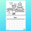 Los Niños Viajan, Calendario sin fechas, Lemonhass.com